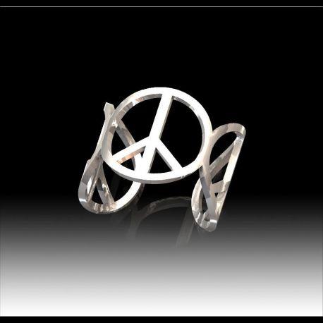 Bracelet Argent Peace
